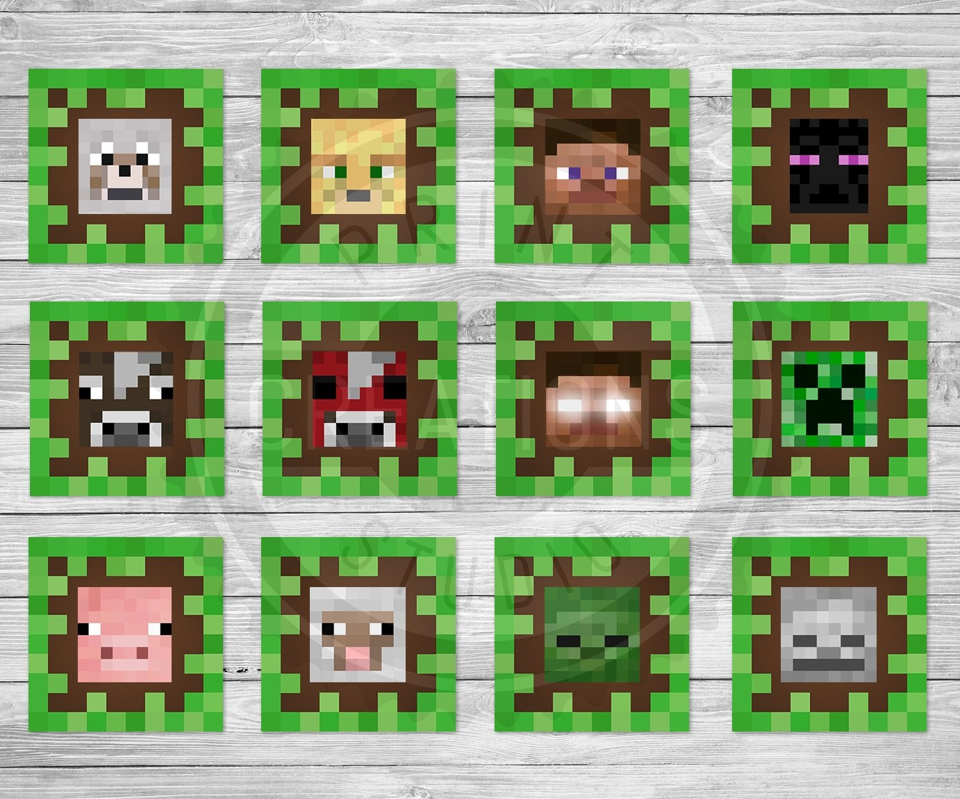 It is an image of Inventive Minecraft Free Printable